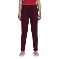adidas Originals Adicolor Cuffed Track Pants - Women's - Maroon