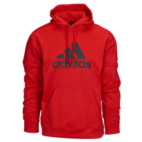 adidas Team Issue P/O Hoodie - Men's - Red / Black
