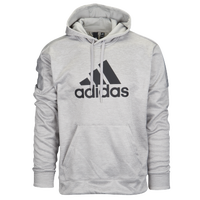 adidas Team Issue P/O Hoodie - Men's - Grey / Black