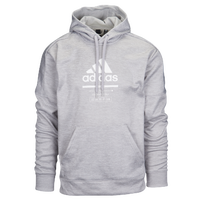 adidas Team Issue P/O Hoodie - Men's - Grey / White