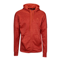 adidas Team Issue Full-Zip Hoodie - Men's - Red / Red