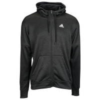 adidas Team Issue Full-Zip Hoodie - Men's - Black / White