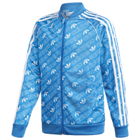 Adidas Originals Repeating Trefoil Track Top Boys Grade School