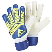 adidas Predator Fingersave Goalie Gloves - Adult - Blue