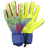 adidas Predator Pro Goalie Gloves - Adult - Yellow / Blue