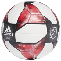 adidas NFHS MLS Soccer Ball - White / Black