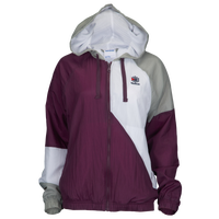 Reebok Classic Starcrest Full-Zip Windbreaker - Women's - Purple / White