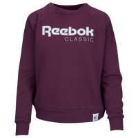 Reebok Iconic Fleece Crew - Women's - Purple