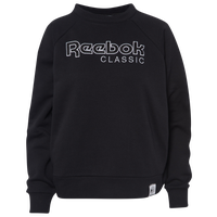 Reebok Iconic Fleece Crew - Women's - Black