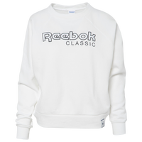 Reebok Iconic Fleece Crew - Women's - White