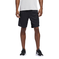 "adidas 4KRFT 9"" Striped Shorts - Men's - Black"