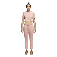 adidas Originals Coeeze Cuffed Fleece Pants - Women's - Pink