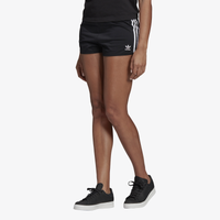 adidas Originals 3-Stripes Shorts - Women's - Black