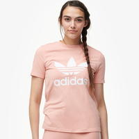 adidas Originals Adicolor Trefoil T-Shirt - Women's - Pink
