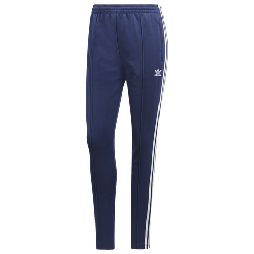 adidas Originals Adicolor Superstar Track Pants - Women s - Casual -  Clothing - Dark Blue 559a9524c71d