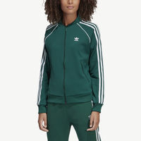 adidas Originals Adicolor Superstar Track Top - Women's - Dark Green