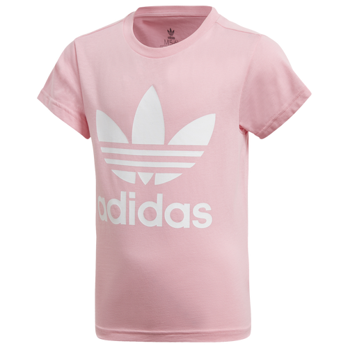 wholesale arriving best sell adidas Originals Adicolor Trefoil T-Shirt - Girls' Toddler