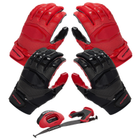 Cutters Rev Pro 3.0 Solid Flip Combo Pack - Red / Black
