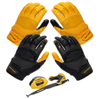 Cutters Rev Pro 3.0 Solid Flip Combo Pack - Gold / Black