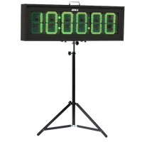 "Gill 9"" Digit Double Sided Race Clock"