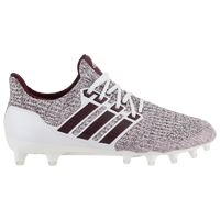 adidas Ultraboost Cleat - Men's - Texas A&M Aggies - White / Maroon