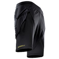 Storelli Sports Bodyshield Goal Keeper Shorts - Men's - All Black / Black