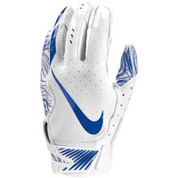 Nike Vapor Jet 5.0 Football Gloves - Men's - White / Blue