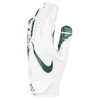 Nike Vapor Jet 5.0 Receiver Gloves - Boys' Grade School - White / Dark Green
