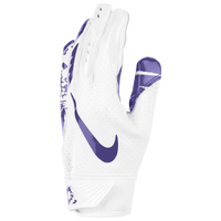 Nike Vapor Jet 5.0 Receiver Gloves - Boys' Grade School - White / Purple