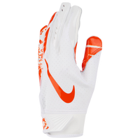 Nike Vapor Jet 5.0 Receiver Gloves - Boys' Grade School - White / Orange