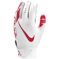 Nike Vapor Jet 5.0 Receiver Gloves - Boys' Grade School - White / Red