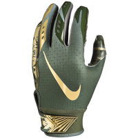 Nike Vapor Jet 5.0 Receiver Gloves - Boys' Grade School - Olive Green / Gold