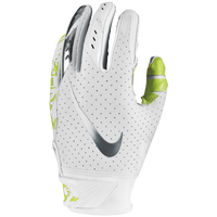 Nike Vapor Jet 5.0 Receiver Gloves - Boys' Grade School - White / Light Green