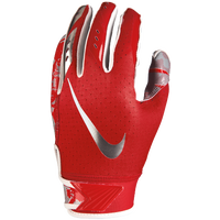 Nike Vapor Jet 5.0 Receiver Gloves - Boys' Grade School - Red / Red