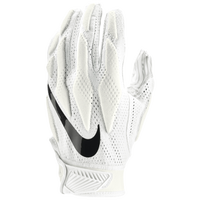 Nike Superbad 4.5 Football Gloves - Men's - All White / White