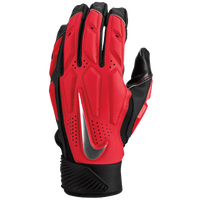 Nike D-Tack 6 Lineman Gloves - Men's - Red / Black