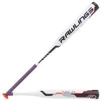 Rawlings Velo Fastpitch Bat - Women's - White / Black