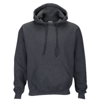 Gildan Team 50/50 Fleece Hoodie - Men's - Grey / Grey