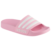 adidas Adilette Shower Slide - Girls' Grade School - Pink