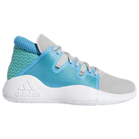 adidas Pro Vision - Boys' Grade School - Grey / Light Blue