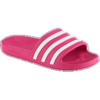 uk availability fa536 1a7be adidas Adilette Aqua Slide - Womens - Pink