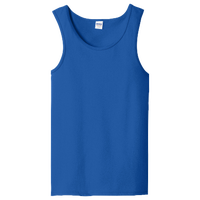 Gildan Team Heavy Cotton 5.3oz. Tank Top - Men's - Blue / Blue