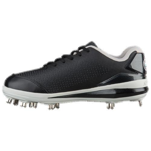 Athalonz G-Force Metal Low - Men's Baseball - Black/Grey GF1000