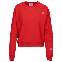 Champion Logo Crew - Women's - Red