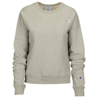 Champion Logo Crew - Women's - Grey