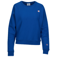 Champion Logo Crew - Women's - Blue