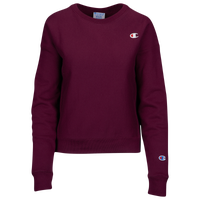 Champion Logo Crew - Women's - Purple