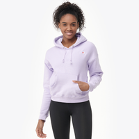 Champion Logo Pullover Hoodie - Women's - Purple