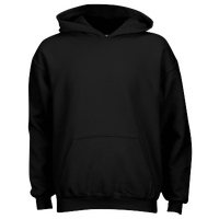 Gildan Team 50/50 Fleece Hoodie - Boys' Grade School - All Black / Black