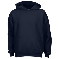 Gildan Team 50/50 Fleece Hoodie - Boys' Grade School - Navy / Navy